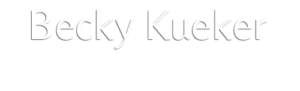Becky Kueler National Speaker and Author